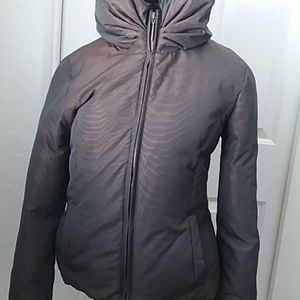 VIA SPIGA SIZE SMALL BROWN COLOR PUFFER JACKET